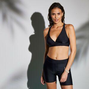 Blancheporte Plavková podprsenka se sportovními zády Solaro, jednobarevná černá, koš. B 75