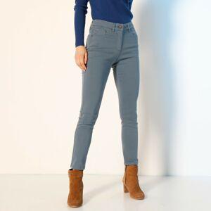 Blancheporte Strečové 7/8 kalhoty modrošedá 36