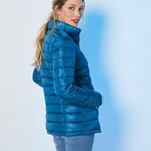 Blancheporte Jednobarevná prošívaná bunda, krátká modrá inkoustová 50