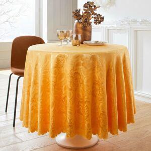 Blancheporte Damaškový ubrus žlutá napron 50x150cm