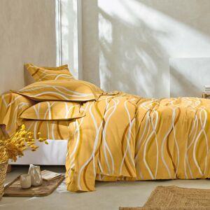 Blancheporte Povlečení Vlnky, bavlna zn. Colombine kari povlak na přikrývku 140x200cm