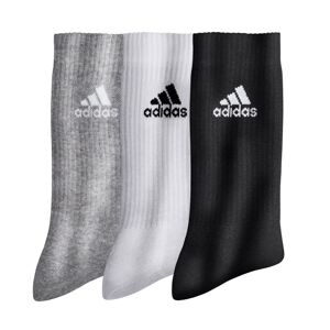 """Blancheporte Nízké ponožky """"crew"""", sada 3 párů šedá+bílá+černá 43/45"""