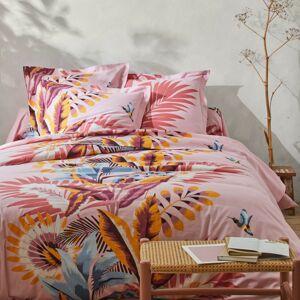 Blancheporte Povlečení Solange, bavlna růžová klasické prostěradlo 180x290cm