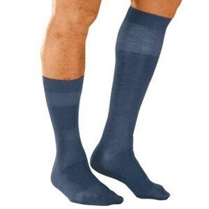 Blancheporte Ponožky s masážním efektem, 98 % bavlna, 2 páry modrá 39/42