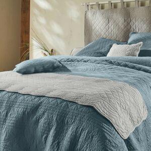 Blancheporte Běhoun na postel, styl boutis, zn. Colombine perlově šedá 50x200cm