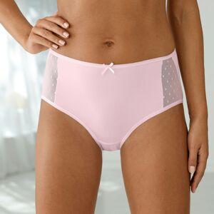 Blancheporte Maxi kalhotky z mikrovlákna, sada 2 ks růžová 54/56