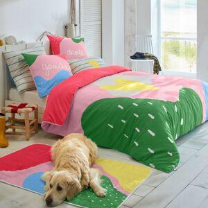 Blancheporte Povlečení Barvy, bavlna růžová povlak na polštář 50x70cm+lem