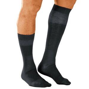 Blancheporte Ponožky s masážním efektem, 98 % bavlna, 2 páry šedá 47/50
