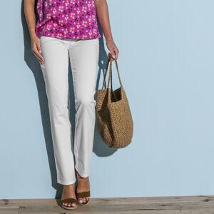 Blancheporte Zeštíhlující kalhoty bílá 42