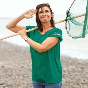 Blancheporte Vzdušné tričko, zelené zelená 34/36