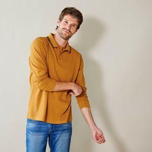 Blancheporte Polo tričko s dlouhými rukávy medová 147/156 (5XL)