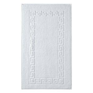 Blancheporte Koupelnová předložka, Řecký vzor bílá 60x100cm