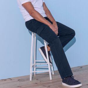 Blancheporte Kalhoty pro volný čas námořnická modrá 60/62