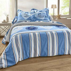 Blancheporte Povlečení Angélique, bavlna modrá 70x90cm a 140x200cm(*)