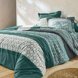Blancheporte Povlečení Tommy, bavlna zelená 70x90cm a 140x200cm(*)