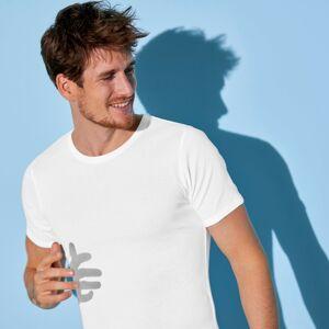 Blancheporte Spodní tričko s kulatým výstřihem, sada 3 ks bílá 133/140 (5XL)