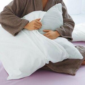 Blancheporte Povlak na polštář na zip bílá 60x60cm