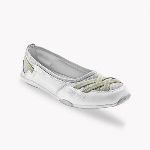 Blancheporte Pružné kožené baleríny, bílé bílá 36
