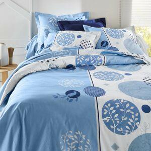 Blancheporte Povlečení Circle, bavlna modrá 70x90cm a 140x200cm(*)