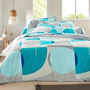 Blancheporte Povlečení Hyppo, bavlna modrá 70x90cm a 140x200cm(*)
