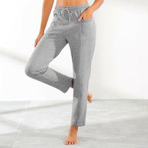 Blancheporte Meltonové sportovní kalhoty šedý melír 54