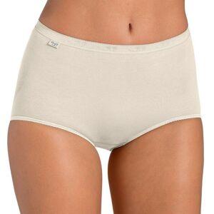 Blancheporte Kalhotky maxi Basic, sada 3 ks perleťová 44