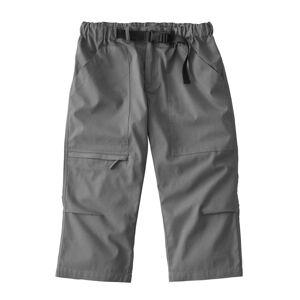 Blancheporte 3/4 kalhoty + sladěný opasek ocelová šedá 40/42
