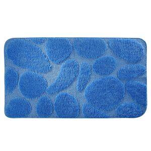 Blancheporte Koupelnová předložka, Oblázky tmavě modrá WC 50x40cm