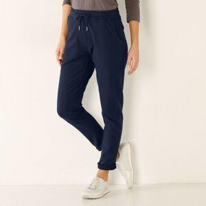 Blancheporte Meltonové kalhoty nám.modrá 50
