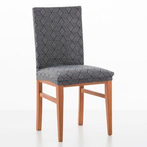 Blancheporte Pružný potah na židli Matarit šedá/antracitová uni