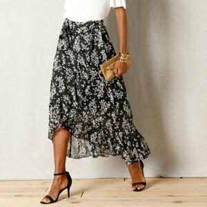 Blancheporte Pouzdrová sukně černá/bílá 40