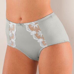 Blancheporte Stahující kalhotky s efektem plochého bříška Calenca modrošedá 54/56