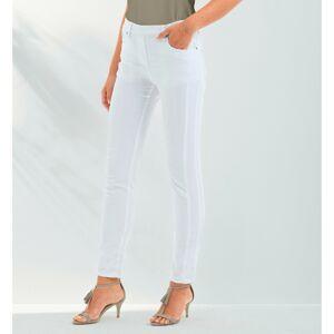 Blancheporte Strečové kalhoty bílá 46