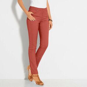 Blancheporte Strečové kalhoty paprika 48