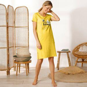 Blancheporte Krátká noční košile, s potiskem včelky žlutá 52