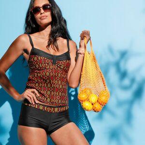 Blancheporte Plavkové tvarující boxerky Sykia čokoládová 46