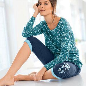 Blancheporte 3/4 pyžamové kalhoty, námořnicky modré nám.modrá 34/36