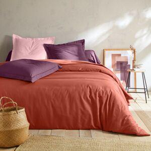 Blancheporte Jednobarevné povlečení, bavlna terakota napínací prostěradlo 120x190cm