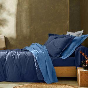 Blancheporte Jednobarevné povlečení, bavlna námořnická modrá povlak na přikrývku 200x200cm