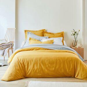 Blancheporte Jednobarevné povlečení, bavlna kari povlak na polštář 40x40cm+lem