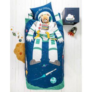 Blancheporte Dětské povlečení Cosmos, bavlna námořnická modrá povlak na přikrývku 140x200cm