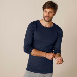 Blancheporte Sada 2 spodních triček s dlouhými rukávy námořnická modrá 93/100 (L)