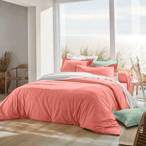 Blancheporte Jednobarevné povlečení, bavlna korálová povlak na přikrývku 200x200cm