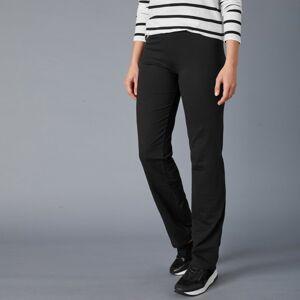 Blancheporte Rovné kalhoty z bio bavlny, eco-friendly černá 54