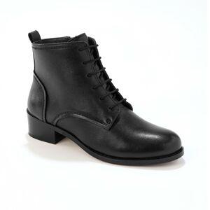 Blancheporte Kotníkové šněrovací boty+N87L200K86:N88K86:N89L200K86:N88K86:N92L200K86:N88K86:N černá 37