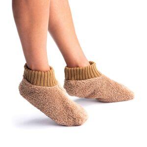 Blancheporte Ponožky na spaní kaštanová L