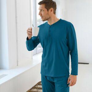 Blancheporte Pyžamo s tuniským výstřihem, jednobarevné modrá 97/106 (L)