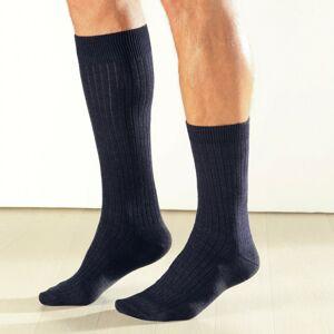Blancheporte Vlněné ponožky Thermoperle, sada 2 párů černá 42/44