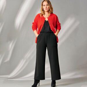 Blancheporte 7/8 strečové kalhoty černá 50
