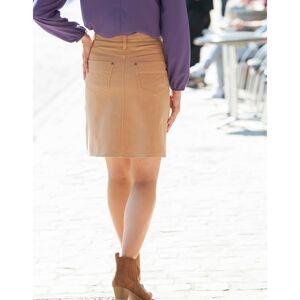 Blancheporte Rozšířená sukně karamelová 52
